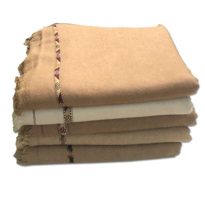 Pack of 5 Pure Woolen Handmade Peshawari & Kashmiri Fusion Dhussa Shawl SHL-126