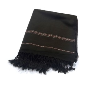 Dark Mehendi Color Dhussa Shawl For Men / Women SHL-124