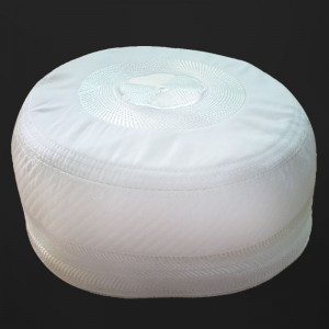White Feroz Cap Bogies / Junaid Jamshed's Cap - Imported From Bangladesh