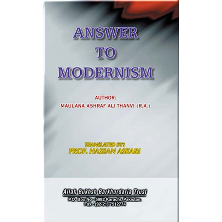 Answer to the Modernism