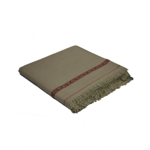 Pure Woolen Grey Color Sawati Shawl SHL-069