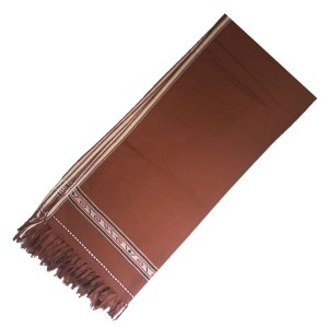 Badami Brown Color Dhussa Shawl For Men / Women SHL-115-4
