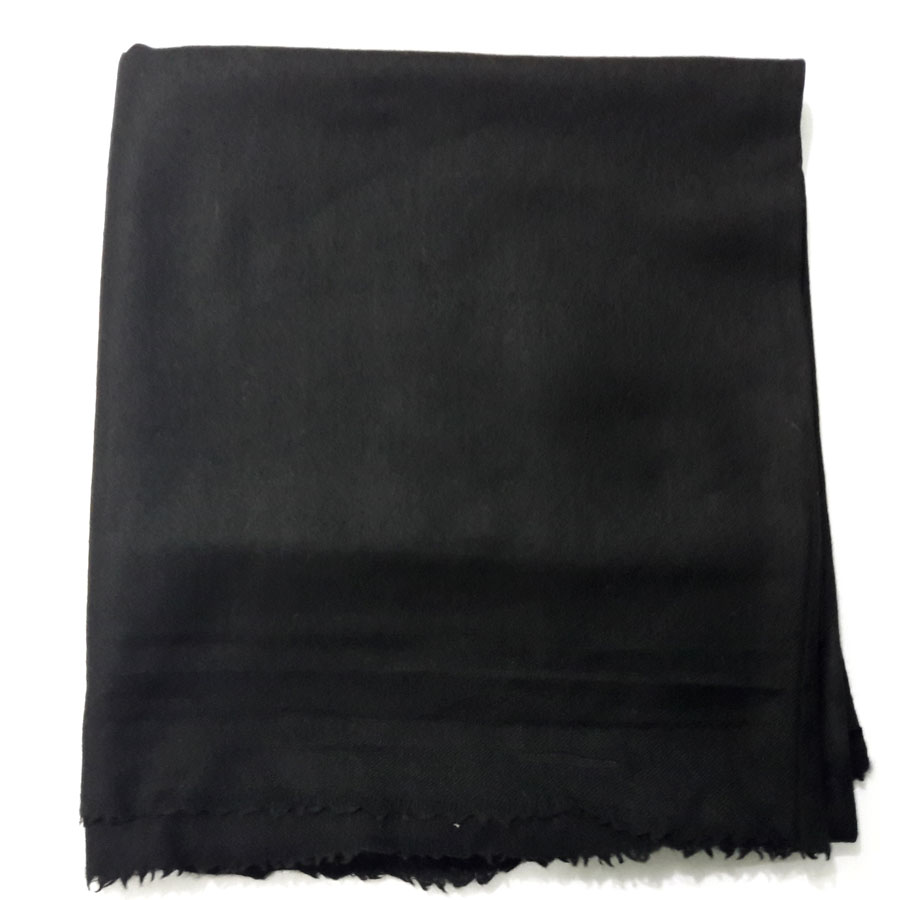 Woolen Pashmina Black Color Kashmiri Shawl For Her SHL-074-2