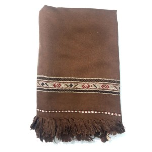 Brown Color Dhussa Shawl For Men / Women SHL-115-6