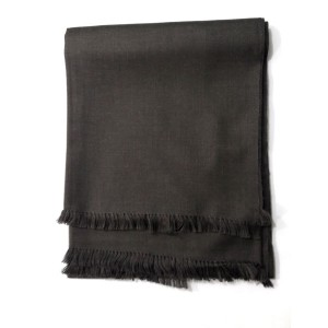 Mix Woolen Dark Gray Color Kashmiri Lohi Shawl SHL-065