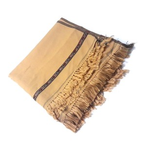 Beige Color Dhussa Shawl For Men / Women SHL-116