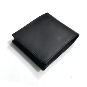 18 Pockets Genuine Cow Leather Wallet For Him CLW#07-01 Color: Black