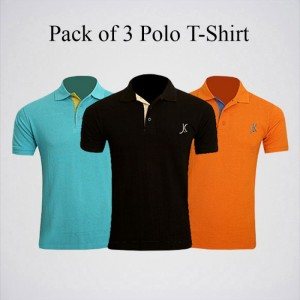 Pack of Three Polo T-Shirts AJ-21
