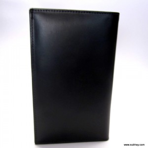 25 Pockets Genuine Cow Leather Travelers Wallet For Him CLW#15