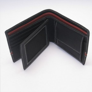 14 Pockets Genuine Cow Leather Wallet For Him CLW#16