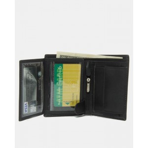 17 Pocket Genuine Leather Wallet For Him CLW#01/02 – Black