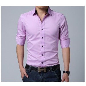 PINK COMFORTABLE FORMAL / JEANS SHIRT CS-03