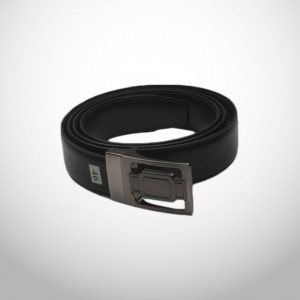 Genuine Leather Fippable Waist Belt  GLB#02 - Bodo & Black
