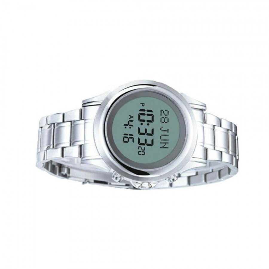 Al-Haramain Azan Watch HA-6382 S (Silver)