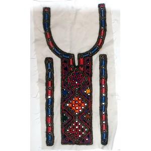 Handmade Sindhi Embriodered Kurti Neck's Piece HM-14