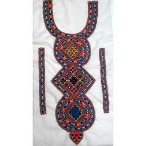Handmade Sindhi Embroidered Kurti Neck's Piece HM-19
