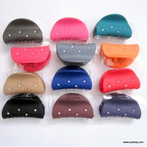 Combo of Six (6) Colorful Hair Catchers MC-02