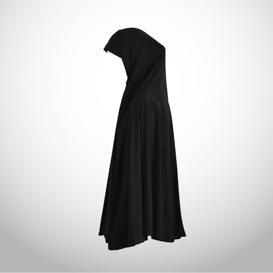 Women's Cotton Scarf or Hajj or Umrah Ihram - Black