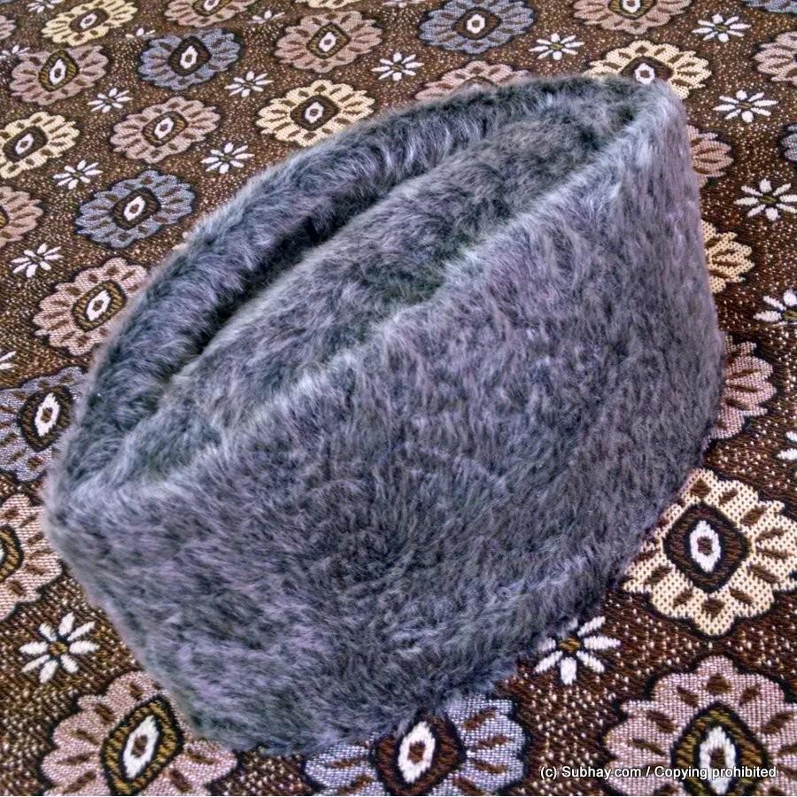 Buy Gray Persian Synthetic Skin (Light Weight) Jinnah   Kerzai Cap D ... 4541c8822723
