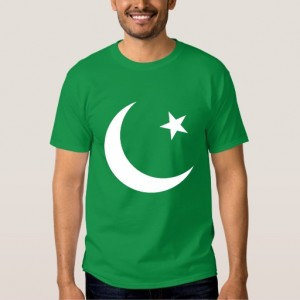 Pakistan Flag Symbol / 14 August T-Shirts For Him PAK-008