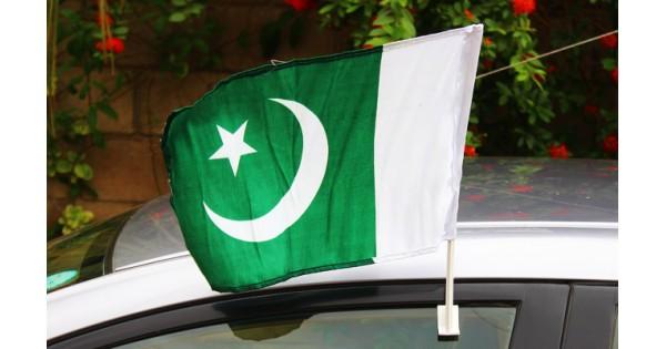 ca5f4393dd Buy Pack of 4 Car Window Flags PAK-017 - Online in Pakistan
