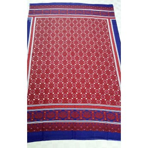SILK BASED BLOCK PRINTED SINDHI AJRAK SA#08