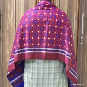 Pure Cotton Block Printed Sindhi [2 Pcs] Ajral SA-13