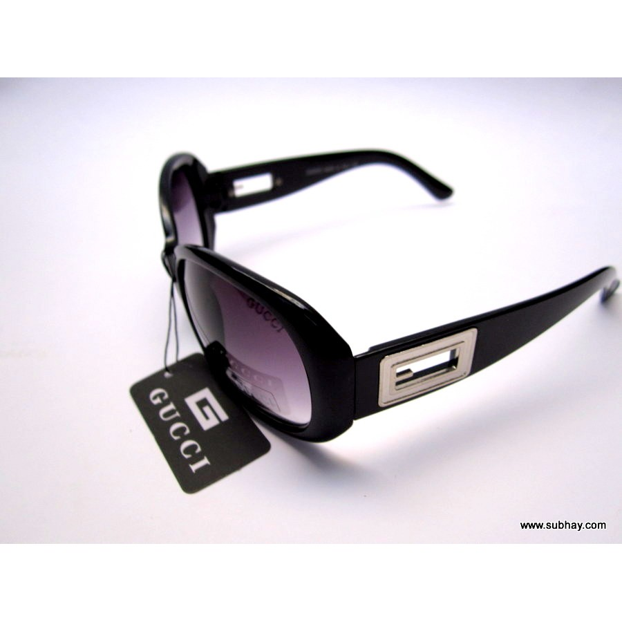 Gucci Sunglasses For Her Black Frame / Black Gradient Lenses SG-22