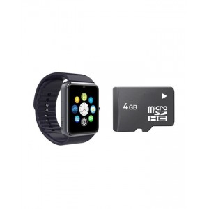 Pack of 2 - GT08 GSM Smart Watch With 4GB Memory Card