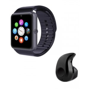 Pack of 2 - GT08 Smart Watch with Mini Bluetooth Wireless Headset