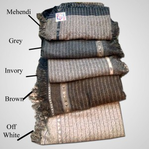 Acro Woolen 5  Color Double Dhussa Shawl For Men / Women SHL-035