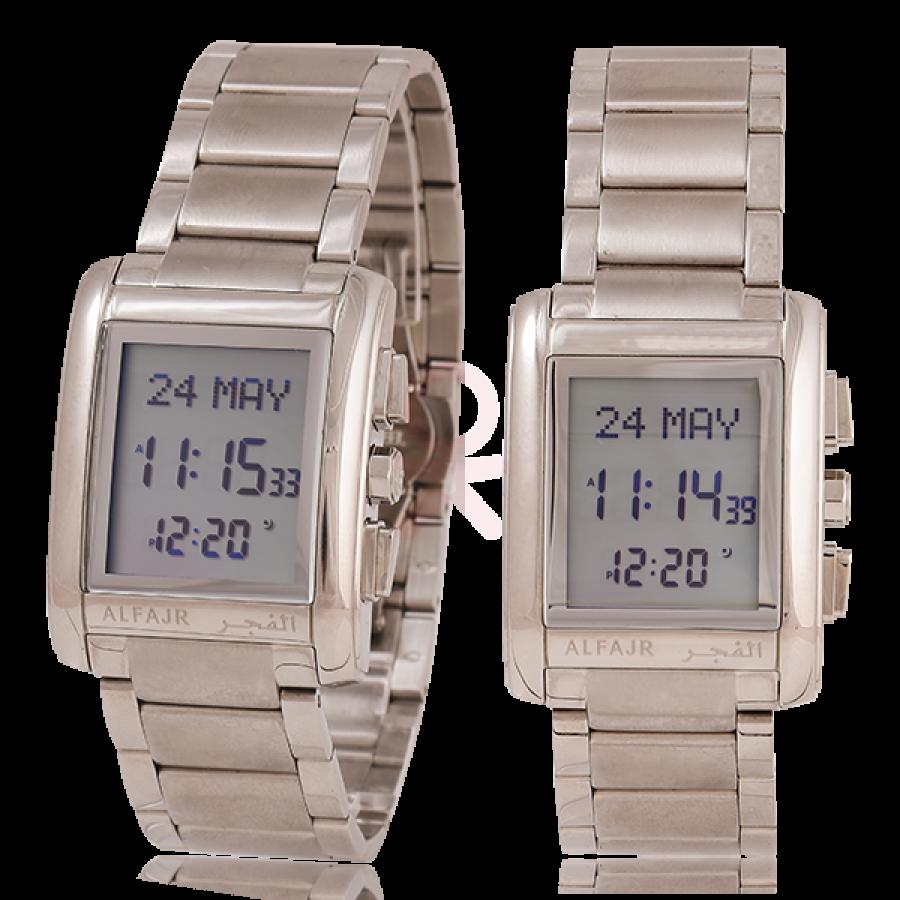 e4960234f0a Buy Al-Fajr Azan Watch WL-06 S (Silver) - Online in Pakistan