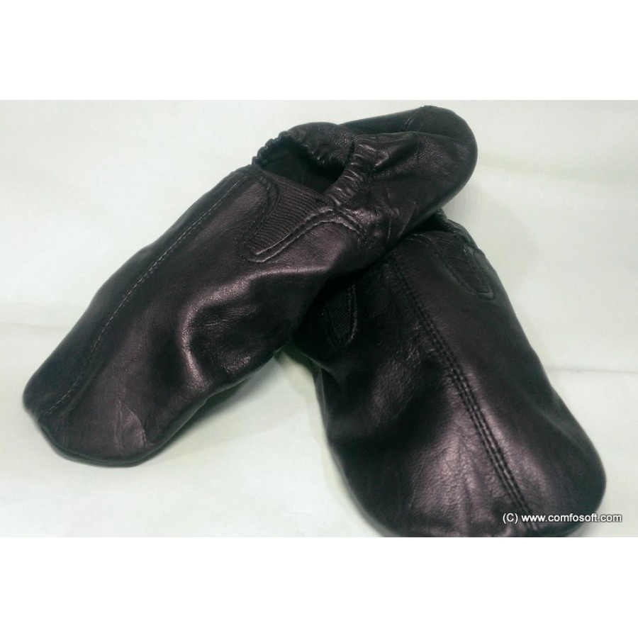 PAIR OF GENUINE LEATHER ANKLE SOCKS FOR BOTH MALE AND FEMALE