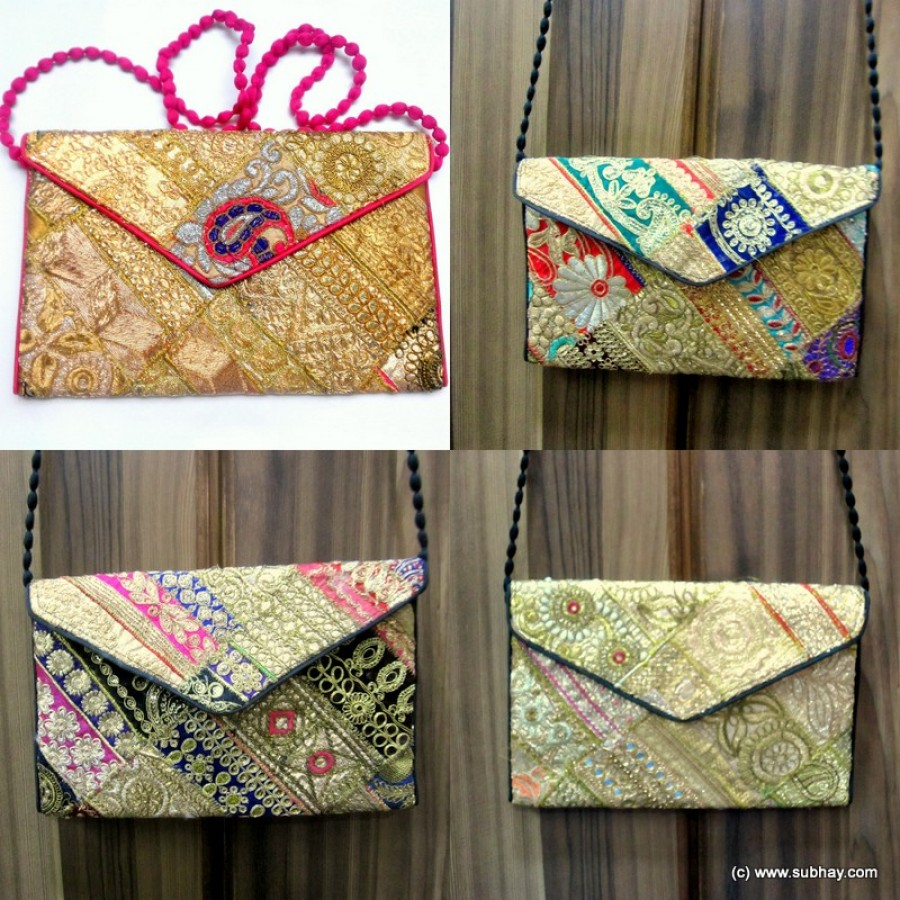 Handmade Sindhi Zarri Patchwork Bag HM-20