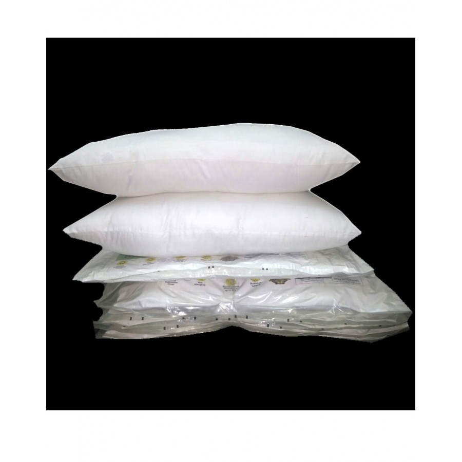 Pack of 2 Korean Hollow Fiber Filled Medicated Pillow