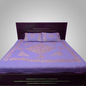 Light Purple Handmade Sindhi Ralli / Rally / Bedsheet HM-11-10